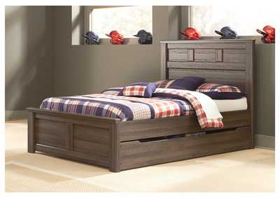 Juararo Full Panel Storage Bed