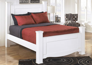 Weeki Queen Poster Bed