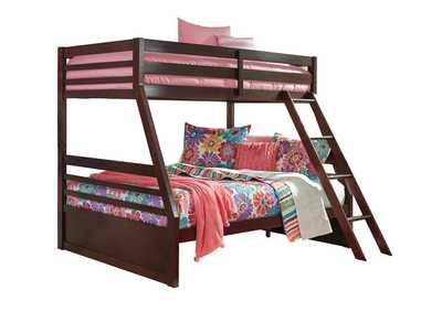 Halanton Dark Brown Twin/Full Bunkbed,Signature Design by Ashley