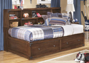 Delburne Full Storage Captains Bed