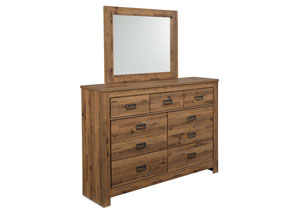 Cinrey Medium Brown Bedroom Dresser