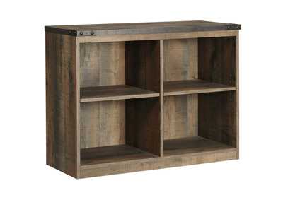 Trinell Brown Loft Bookcase
