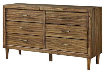 Faradyn Warm Brown Dresser