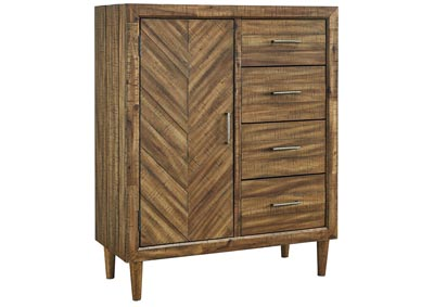Faradyn Warm Brown Door Chest