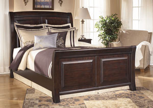 Ridgley Queen Sleigh Bed,Signature Design by Ashley