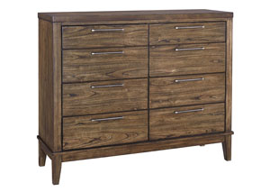 Zilmar Walnut Brown Dresser