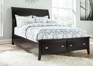 Braflin California King Storage Bed