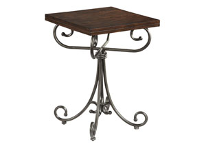 Moriann Brown Night Table,Ashley