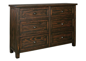 Trudell Golden Brown Dresser