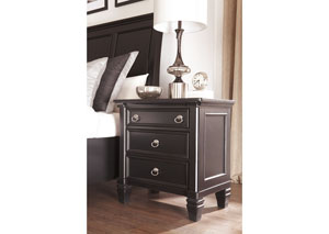 Greensburg Three-Drawer Nightstand