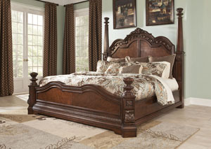 Ledelle California King Poster Bed,Millennium