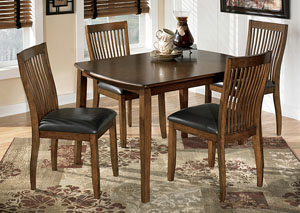 Stuman Rectangular Table w/ 4 Chairs