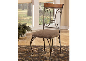 Plentywood Dining Upholstered Side Chair (Set of 4),Signature Design by Ashley