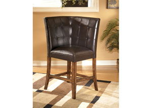 Lacey Corner Upholstered Barstool,Signature Design by Ashley