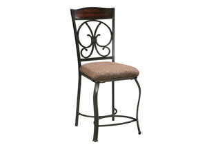Glambrey Upholstered Barstool (Set of 4)
