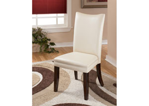 Charrell Ivory Side Chairs (Set of 2)