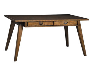 Centiar Two-Tone Brown Rectangular Dining Room Table
