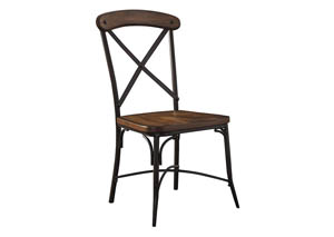 Rolena Brown Dining Room Side Chair (Set of 2)