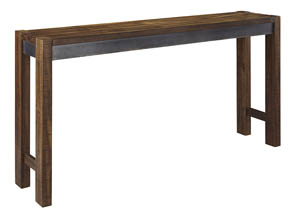 Torjin Two-tone Brown Long Counter Table,Signature Design By Ashley