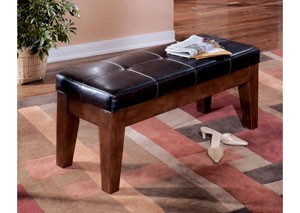 Larchmont Large Upholstered Dining Bench