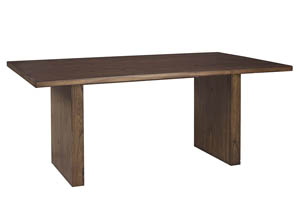 Zilmar Medium Brown Rectangular Dining Room Table