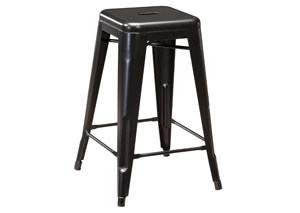 Pinnadel Gray Stool (Set of 4)
