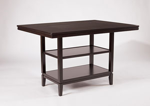 Trishelle Rectangular Counter Table