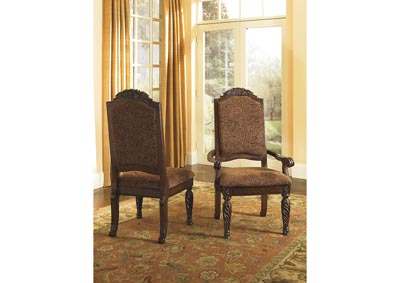 North Shore Upholstered Arm Chairs (Set of 2)