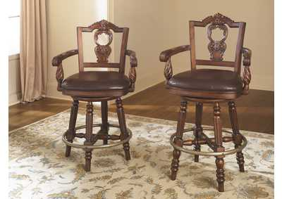 North Shore Tall Swivel Barstool