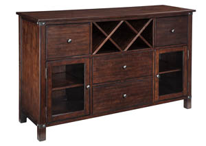 Collenburg Dark Brown Dining Room Server