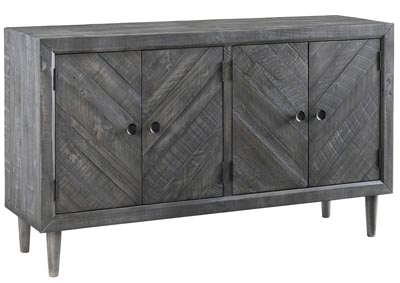 Besteneer Dark Gray Dining Room Server