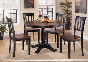 Owingsville Round Table w/4 Side Chairs