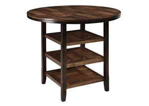 Moriann Round Counter Height Table