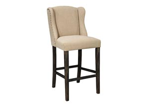 Moriann Tall Upholstered Barstool (Set of 2)