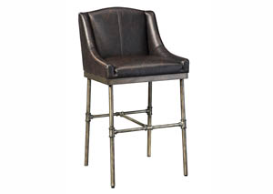 Starmore Brown Tall Upholstered Barstool (Set of 2)