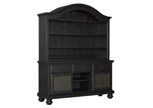 Furniture World Petal MS Sharlowe Charcoal Oval Dining Room