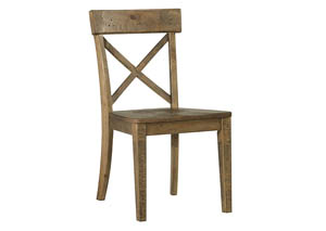 Trishley Light Brown Dining Room Side Chair (Set of 2)