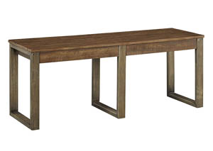 Dondie Warm Brown Dining Bench