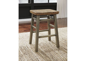 Dondie Stool (Set of 2) Warm Brown