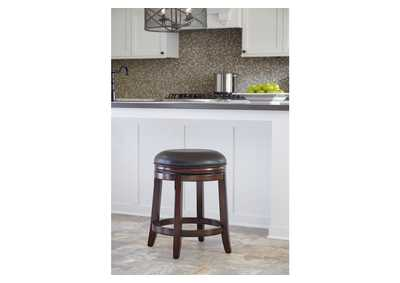 Porter Upholstered Swivel Stool (Set of 2)