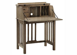 Dexifield Light Brown Home Office Drop Front Desk,Signature Design By Ashley
