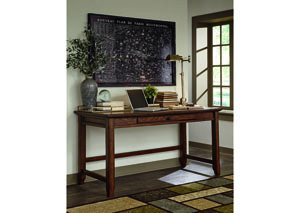 Woodboro Brown Home Office Desk,48 Hour Quick Ship