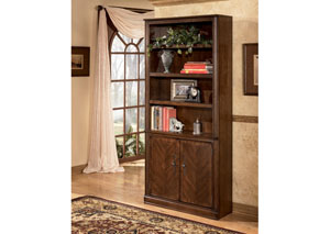 Hamlyn Large Door Bookcase,48 Hour Quick Ship