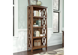Burkesville Large Bookcase,48 Hour Quick Ship