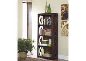 Devrik Bookcase,48 Hour Quick Ship