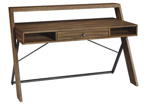 Torjin Light Brown Home Office Desk,Signature Design By Ashley