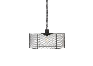 Black Metal Pendant Light,Signature Design by Ashley