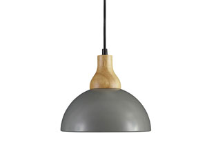 Idania Gray Metal Pendant Light