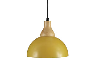 Idania Yellow Metal Pendant Light,Signature Design by Ashley