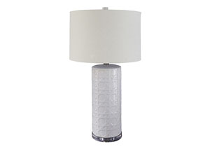 Solena White Ceramic Table Lamp